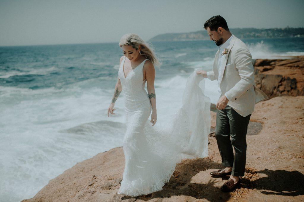 freshwater wedding